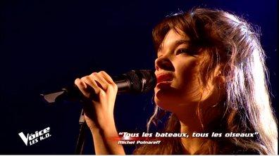 """KO MARC LAVOINE - Louise Combier chante  """"Tous les bateaux, tous les oiseaux"""" de Michel Polnareff"""