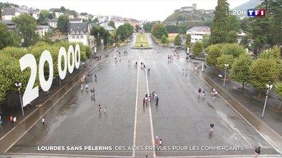 Lourdes sans pèlerins : des aides publiques prévues pour les commerçants