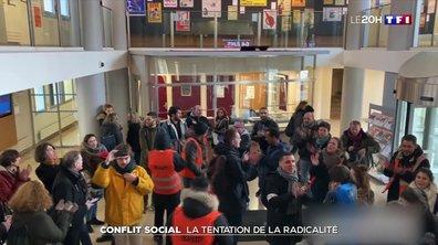 Louvre bloqué, intrusion à la CFDT, la mobilisation s'érode mais se radicalise