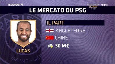 [EXCLU Téléfoot 21/01] – Mercato / Arsenal pense à Lucas Moura