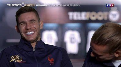 """L'Interview – Lucas Hernandez : """"J'ai retrouvé le sourire"""""""