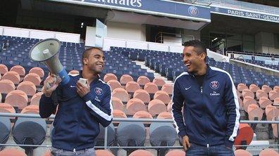 PSG : Lucas et Marquinhos nous font visiter le Parc des Princes