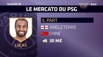 [EXCLU Téléfoot 17/12] - Mercato / PSG : Lucas va partir, Wendel va s'engager et partir en prêt à Porto