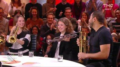Invitée : Lucienne Renaudin Vary, 18 ans et trompettiste