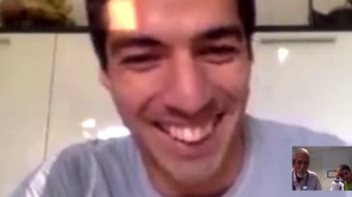 Vidéo insolite : Quand Luis Suarez appelle par surprise un enfant atteint d'un cancer