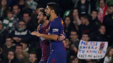Liga : Messi et Suarez évitent une première défaite au Barça