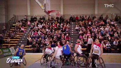 Lundi Transpi : le basket en fauteuil à l'honneur
