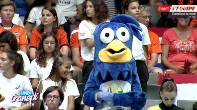 Lundi Transpi : sale journée pour la mascotte des championnats de volley-ball