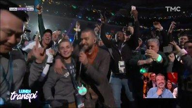 Lundi Transpi : le show de Justin Timberlake pour le Super Bowl