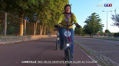 Lunéville : des vélos gratuits pour aller au collège