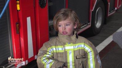 Stéphanie et Lyam en immersion chez les pompiers