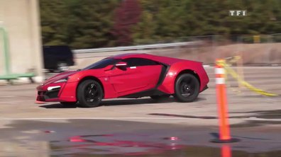 Exclu : La Lykan Hypersport star de Fast and Furious 7