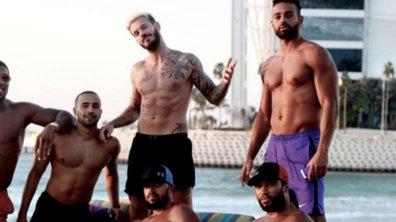 Attention les yeux : M Pokora tombe le haut à Dubaï !