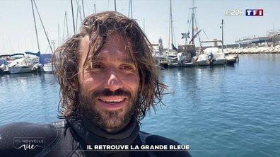 """""""Ma nouvelle vie"""" : Guillaume Néry, champion du monde en apnée retrouve le grand bleu"""