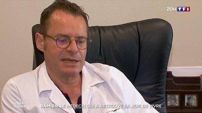 """""""Ma vie d'après"""" : guéri du Covid-19, Damien, médecin dans le Jura, a repris ses consultations"""
