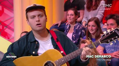 Mac DeMarco : « This old dog » en live sur Quotidien