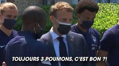 VIDEO - Quand Macron se lâche face à N'Golo Kanté