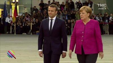 Première visite réussie pour Macron à Berlin