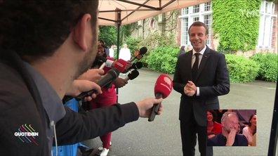 Macron à Clairefontaine : est-il calé sur les Bleus ?