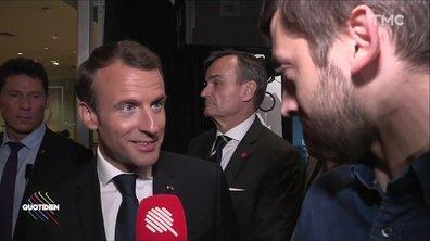 """Macron aux États-Unis : y-a-t-il un """"pellicule Gate"""" ?"""