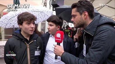 Macron en Corse : les écoliers briefés sur l'assassinat du préfet Erignac