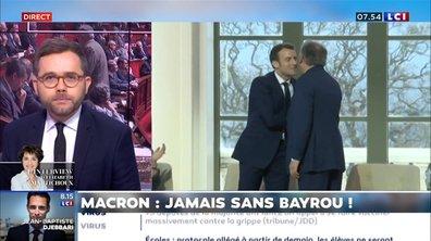 Macron : jamais sans Bayrou !
