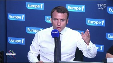 Macron : l'homme aux deux discours