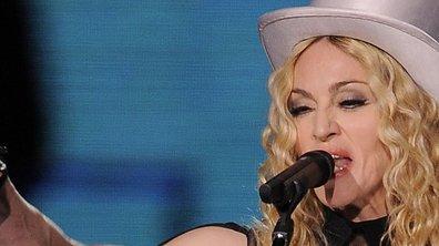 Madonna s'effondre sur scène