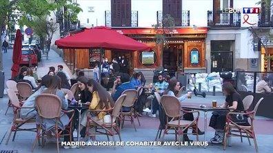 Madrid, la capitale qui a décidé de vivre avec le virus