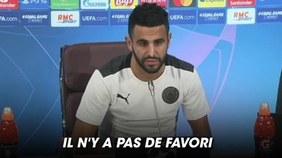 "VIDEO - Les Citizens pas ""favoris"" selon Mahrez"