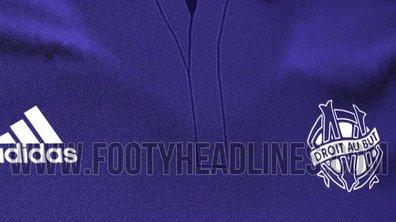 Ligue 1 - Les nouveaux maillots de l'OM ont fuité