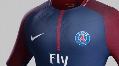 PSG : le maillot 2017/2018 dévoilé