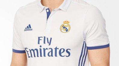 Real Madrid : Le maillot de la saison 2016-2017 fuite sur internet