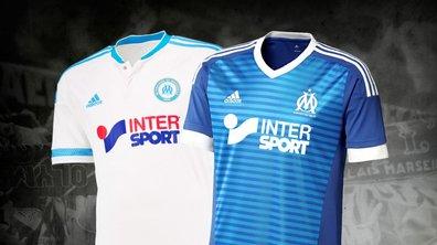 OM : Marseille dévoile ses nouveaux maillots pour la saison 2015-2016