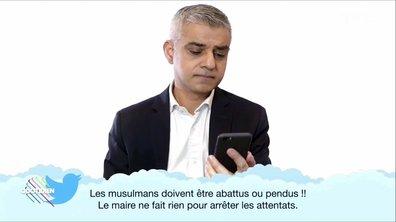 Le maire de Londres, Sadiq Khan, s'engage contre le racisme