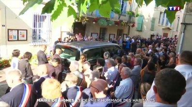 Mort du maire de Signes : le dernier hommage des habitants