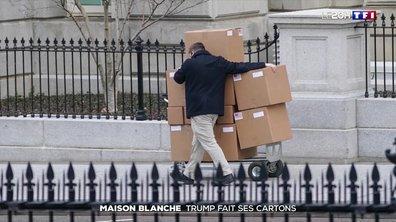 Maison Blanche : Donald Trump fait ses cartons