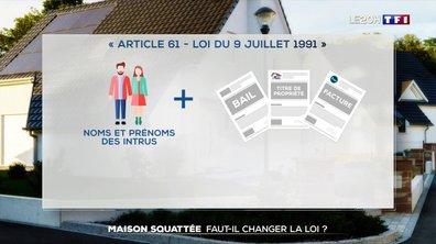 Maison squattée dans les Alpes-Maritimes : faut-il changer la loi ?