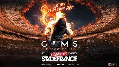 GIMS, Destination Stade de France - Le concert événement Mardi 5 novembre sur TMC