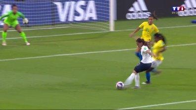 France - Brésil (0 - 0) : Voir l'occasion de Majri en vidéo