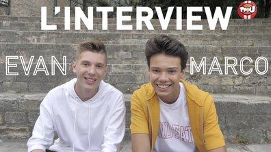 L'interview making off d'Evan et Marco
