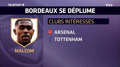 [EXCLU Téléfoot 21/01] – Mercato / Tottenham pousse pour Malcom