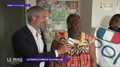 Equipe de France : La famille Mbock se mobilise !