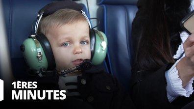 EXCLU - Gianni fait son baptême de l'air en hélicoptère !