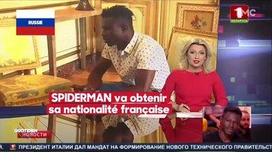 """Mamoudou Gassama : le sauvetage du """"Spiderman"""" français vu de l'étranger"""