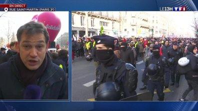 Manifestation contre la réforme des retraites : forte mobilisation à Paris