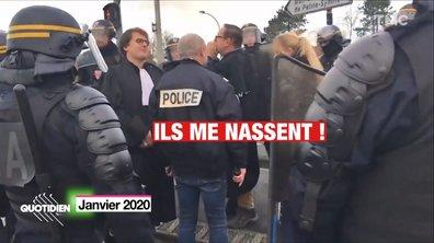 """Manifestation: la """"nasse"""" bientôt interdite ?"""