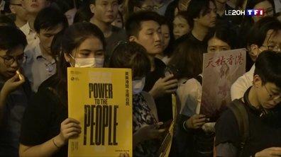 Manifestations à Hong Kong : les étudiants s'y mettent aussi
