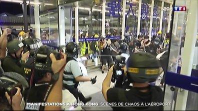 Manifestations à Hong Kong : scènes de chaos à l'aéroport