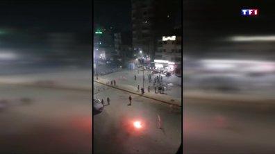 Manifestations réprimées en Egypte